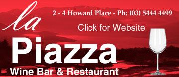 La Piazza Wine Bar & Restaurant Bendigo