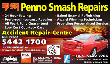 Penno Smash Repairs Bendigo